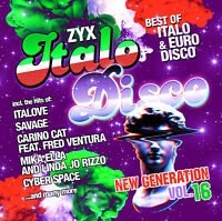 CD ZYX Italo Disco New Generation Vol.16 von Various Artists 2CDs