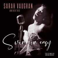 SARAH AND TRIO VAUGHAN - SWINGIN' EASY/BIRDLAND..   VINYL LP NEU