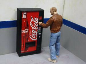 Vending Machine Model Prop Coke Action Figure Garage Diorama Crawler Dollhouse