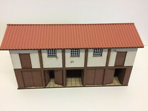 28mm ROMAN  warehouse dark wood prepainted kit
