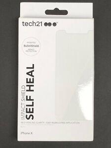 Tech21 Impact Shield Self-Heal Screen Protector for iPhone X / XS & 11 Pro