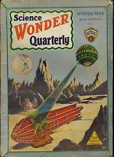 Science Wonder Qrtly   Vol 1  #2   Pulp   Winter 1930   GVG  Paul cover, Romans,