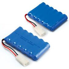 2 pcs 7.2V 1400mAh RC Ni-Cd AA Tamiya Plug Toy Car Rechargeable Battery Pack