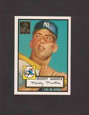 1996 Topps MICKEY MANTLE #2 of 19 1952 Reprint #311
