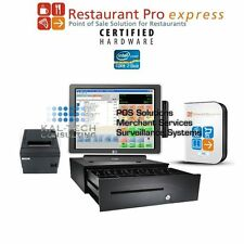pcAmerica RPE PRO BURGER SHOP/RESTAURANT POS SYSTEM ALL-IN-ONE POS 3GB RAM