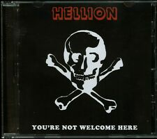 Hellion You're Not Welcome Here CD new Wash D.C. Doom The Obsessed Force