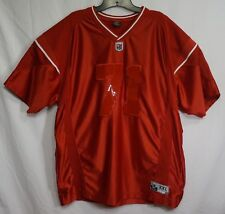 VTG Starter Football Jersey #71 Red L Polyester On-field Game Equipment Spellout