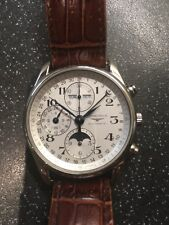 Longines Master Collection Calibre 678 Watch 24hr, Day, Date, Month & Moon Phase