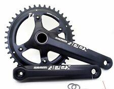 Sram Apex 1 GXP Crankset 10/11 speed 165mm Asymmetry 42T BCD 110mm Black w/o BB