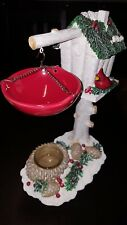 Yankee Candle Winter Pine Red Cardinal Tart Wax Hanging Burner