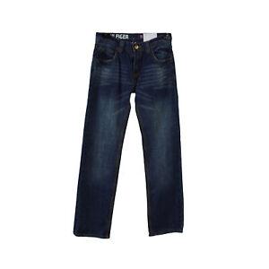 Tommy Hilfiger Boy's Straight Leg Medium Wash Jeans Size 12