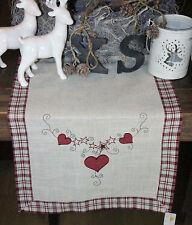 Clayre & Eef * Weihnachtsdecke * Tischläufer * Tischdecke *  40 x 120 cm  *