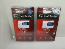 2 BACTRACK BREATH ALCOHOL TESTER KEYCHAIN BREATHALYZER COMPACT DESIGN NT 7405