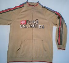 ECKO Jacket XXL Beige with Red Details Good  Condition