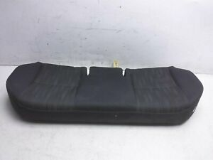 13 14 Toyota Corolla S Rear Lower Seat Portion 71075-02M91-B1 W/O Arm Rest Black