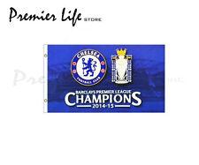 Chelsea F.C. BANDIERA ultime CHAMPION Design Bandiera