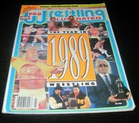 Vintage Pro Wrestling Illustrated Magazine WWE WCW WWF Wrestler Hulk Hogan 1990