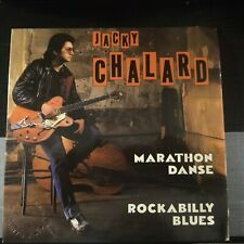 Jacky Chalard ‎– Marathon Danse / Rockabilly Blues 45 giri 1983 France Issue