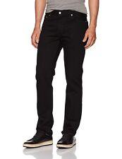 Levi's 158786 Men's 511 Slim Taper Fit Sits Below Waist Black Jeans Size 32x34