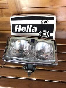 Vintage Foglamp Fog light Hella 290 With Cover Volkswagen VW Jeep Mercedes
