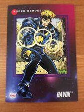 1992 Marvel Universe 3 III #70 Havok Trading Card