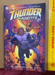 THUNDER AGENTS VOL 1 DC COMICS GRAPHIC NOVEL TPB 2011 1ST ED T.H.U.N.D.E.R. EXC!