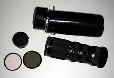 Gefitec Auto Zoom f/4.5 85-210mm telephoto lens C/FD mount w/ case,cap,2 filters