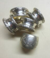Napkin Rings; Four Matching & One Not Matching  (773)