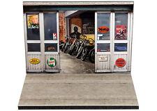 Diorama présentoir Garage Motos Classiques - 1/24ème - #24-2-A-A-001