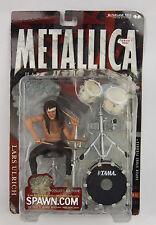 McFarlane Toys Metallica Lars Ulrich Drummer Harvester of Sorrow FIgure NIP