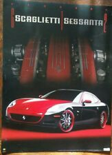 Ferrari Scaglietti Sessanta Poster