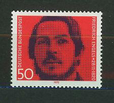 ALEMANIA/RFA WEST GERMANY 1970 MNH SC.1051 Friedrich Engels,socialist