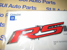 Chevy Camaro RS Red Rear Emblem Badge Factory vOEM Genuine GM  2010-2013