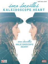 SARA BAREILLES KALEIDOSCOPE HEART PIANO GUITAR SONGBOOK