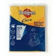 50 PEDIGREE 'EASI-SCOOP'  BLACK DOG WASTE BAGS