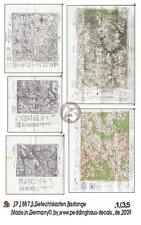 Peddinghaus 1/35 Real Battle Maps of Bastogne Area WWII (5 maps) [Diorama] 1887