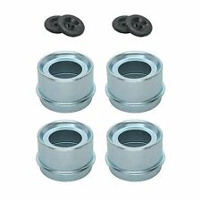 """(4) Trailer 1.98"""" EZ Lube Grease Huv Cover Dust Cap Rubber Plug  FREE SHIPPING!"""