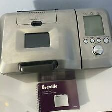 Breville The Custom Loaf Bread Maker Machine Auto Fruit Nut w Manual BBM800XL