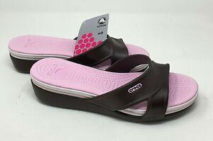 Crocs Schuhe Pantoletten Sandalen Hausschuhe Sommerschuhe Damenschuhe