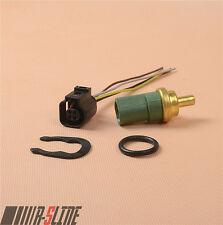 Coolant Temperature Sensor + Plug For Bora Golf Jetta Passat Beetle A3 A4 A6 TT