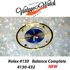 NEW Rolex BALANCE 4130 432 PARACHROM COMPLETE Bilanciere Daytona