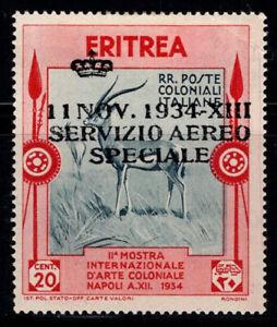 Eritrea 1934 Nuovo * 40% 20 cent - Servizio Aereo Speciale