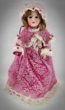 """Beautiful Antique George Borgfedlt Bisque Head Composition Doll Pansy III 24"""""""