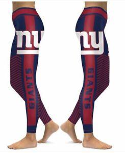 New York Giants Small to 2X-Large Women's Leggings New