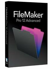 FileMaker Pro 12 Advanced MAC & PC