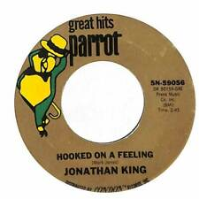 "Jonathan King - Hooked On A Feeling  - Import - 7"" Record Single"