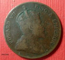 1905 One Cent from Hong Kong British COLONY Circulated KM# 11  A-077
