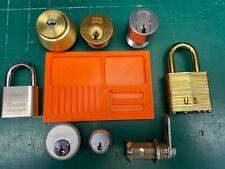 Lock lot - NO Keys - Medeco MIWA Master Russwin SFIC ACE - Locksmith Locksport