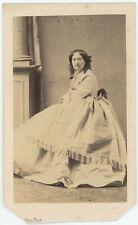 CDV circa 1860. María Manuela Kirkpatrick, mère de l'impératrice Eugénie.