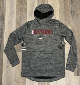 Nike Cleveland Cavaliers Showtime Hoodie Gray Men's Size Large TALL Team Issued